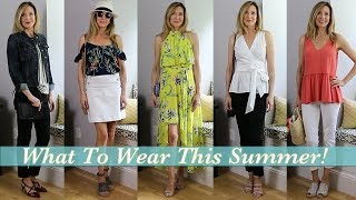 What to Wear ~ Beach, BarBQ, Business Casual, Barn Wedding!