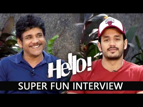 Akkineni Nagarjuna and Akhil Akkineni Exclusive Live  Interview About Hello Movie | Kalyani