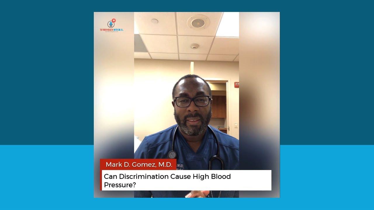 Can Discrimination Cause High Blood Pressure?