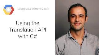 Using the Translation API with C#