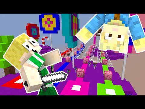 Dansk Minecraft - Lucky Blocks #3: ET SLIK LAND!!