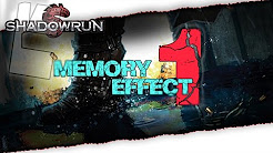 Memory Effect  |  Shadowrun  |  Pen And Paper  |  deutsch