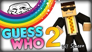 THE NEW GUESS WHO 2 (Minecraft Minigame) w/ SimonHDS90