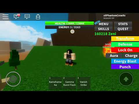Roblox Dragon Ball Ultimate How To Mix Forms Youtube