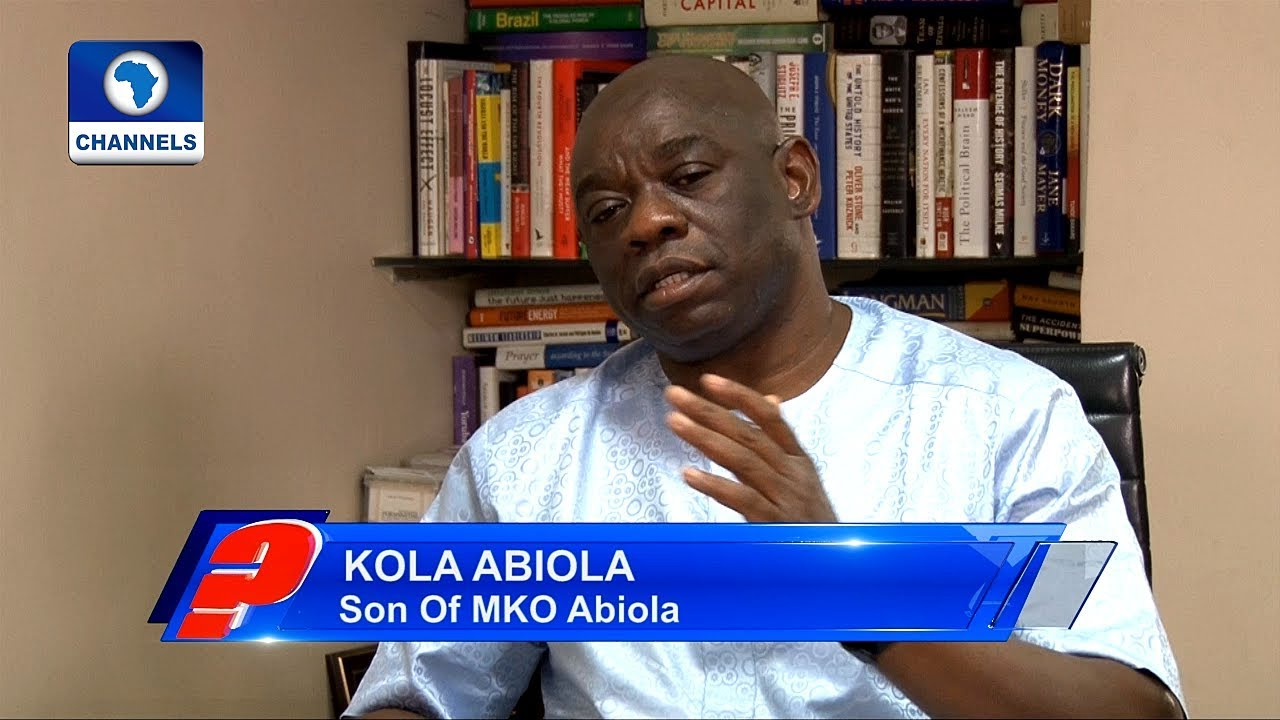 Download How Ex-President Jonathan Couldn't Honour My Father Despite All Attempts – Kola Abiola Pt.3
