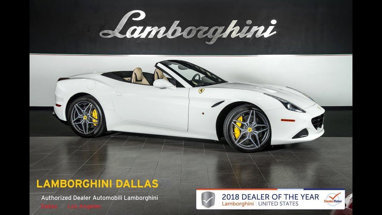2015 Ferrari California T Bianco Avus LT1253