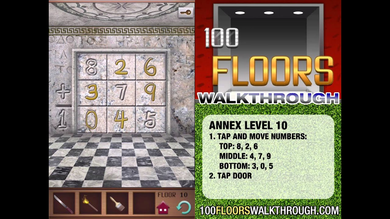 100 floors walkthrough annex floor 10 walkthrough 100
