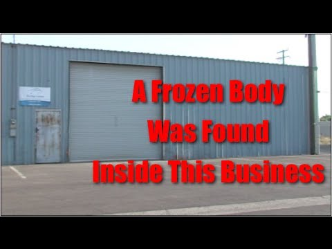 A Frozen Body Was Found Inside A Business In Ceres, California - News Story