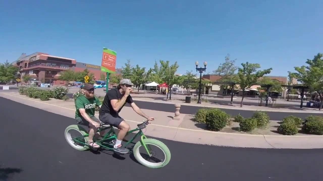 Open Streets Sparks Reno Bike Project Nevada Tandem Fat Bike