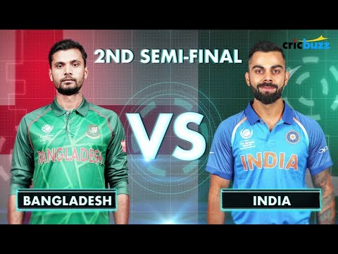 Champions Trophy 2017 Semi-final Preview: Bangladesh vs India at Edgbaston