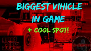 GTA 5 Online - Car Location Biggest Vehicle