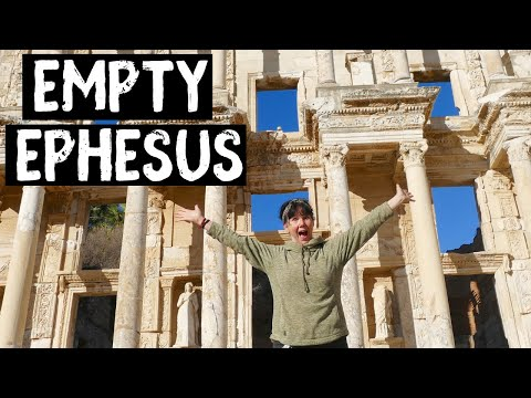 TURKEY'S AMAZING EPHESUS - We got it all to ourselves !