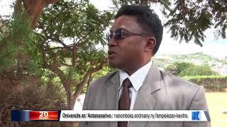 INFO K MADA : Université Président DU 23 FEVRIER 2019 BY KOLO TV