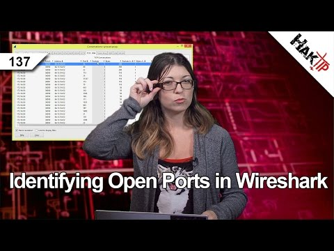 Identifying Open Ports in Wireshark, HakTip 137