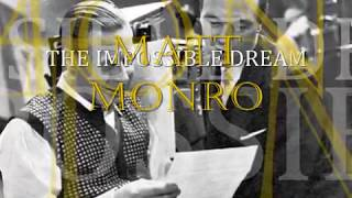 matt monro -  the impossible dream