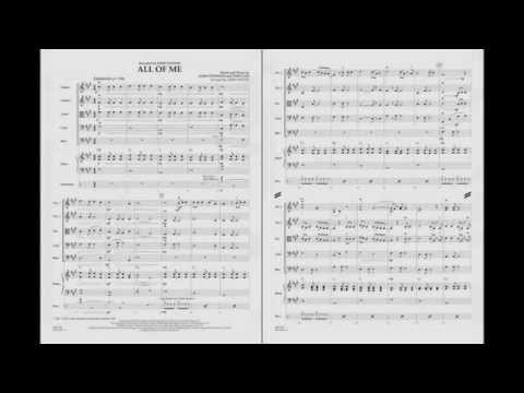 All of Me arranged by Larry Moore