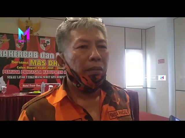 KABUPATEN KEDIRI - PP Kabupaten Kediri Gelar Rakercab Mantap