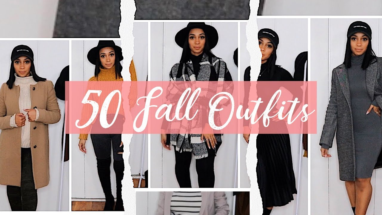 [VIDEO] - 50 Fall/Winter Outfits + Try-on | Ang's Closet 9