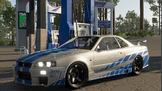 NISSAN SKYLINE GTR-R34  ( A TODO GAS 2 ) | THE CREW 2