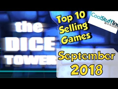 Top 10 Selling Games: September 2018