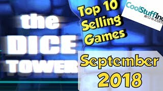 Top 10 Games - Top 10 Selling Games: September 2018