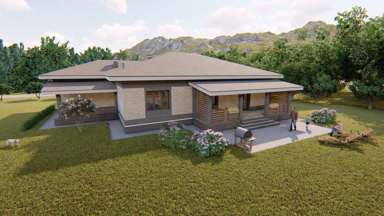 Готовый проект дома «Герценит»