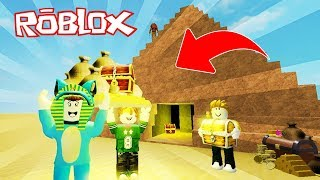 WE ROB THE TREASURE OF THE INCREDIBLE PYRAMID!! MADCITY ROBLOX 💙💚💛 BE BE BE BE BE BE BE BE BE BE BE 😍 BE