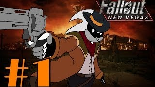 Let's Play Fallout: New Vegas part 1 - Wakey Wakey