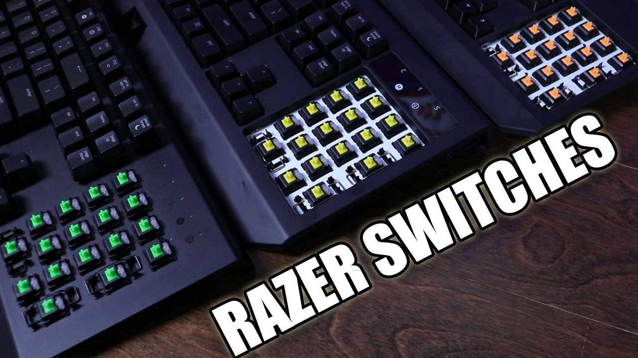 Which Razer Switch Is Best For You A Full Comparison With Sound