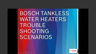 Virtual Troubleshooting for Bosch Domestic Hot Water 20200916 1501 1