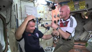 U.S. Astronauts Shave Heads Following World Cup Loss to Germany