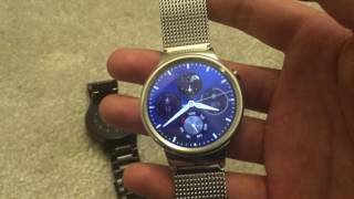 Huawei Watch, Vector Luna unboxing and brief look