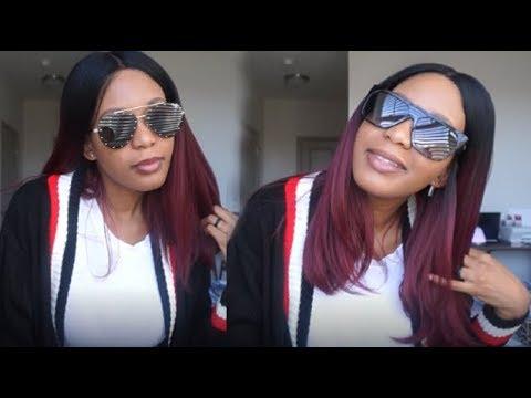 24d53bf3b6 Jaclyn Hill x Quay sunglasses try on haul - YouTube