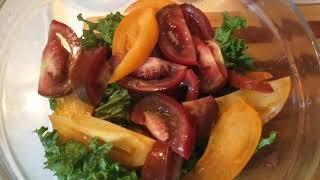 ПП рецепт Салат с грушей