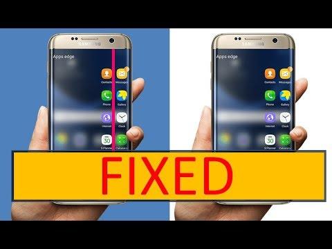 How To Fix Pink Line On S7 Edge |  Fix All S6 S7 S8 S9 And S10