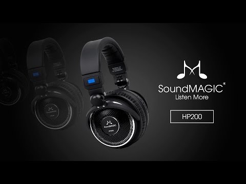 SoundMAGIC HP200 - Open Back Headphones With Replaceable Cable