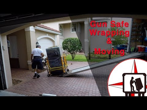 How To Move A Heavy Gun Safe - AMAZING