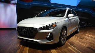 2018 Hyundai Elantra GT First Look: 2017 Chicago Auto Show