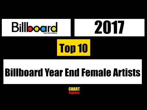 Billboard 2017 | Year End Top Female Artists 2017 | Top 10 | ChartExpress