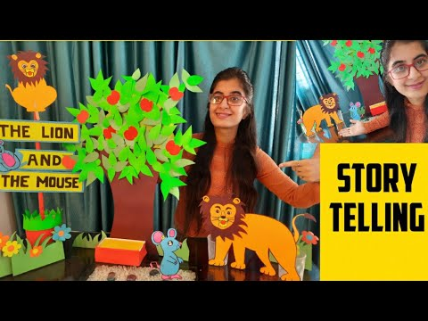 Story of the Lion and the Mouse | Storytelling with props