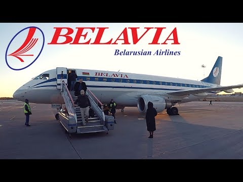 FLIGHT REPORT / BELAVIA EMBRAER 175 / ST PETERSBURG - MINSK