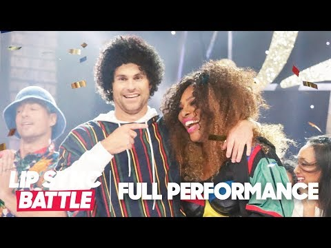 "Serena Williams Joins Andy Roddick for ""Finesse"" by Bruno Mars 