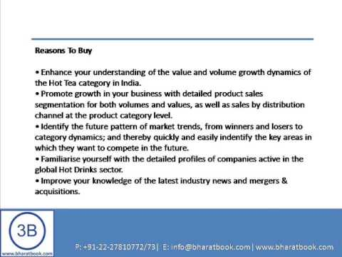 Bharat Book Presents : Hot Tea Market in India to 2017