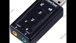 звуковая карта Hama 7.1 Surround USB