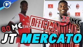 OFFICIEL : Nicolas Pépé signe à Arsenal, Rafael Leao au Milan AC | Journal du Mercato