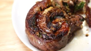 Stuffed Steak Rolls