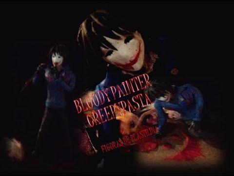 Bloody Painter :) Creepypasta -  Figura De Plastilina