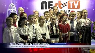 Colindători la NEst TV Channel Suceava