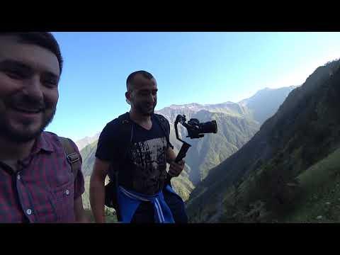 Дорога в село ХУШЕТ ПЕШКОМ Дагестан туристический Ргвк The Road To KHUSHET Dagestan Tourist RGVK
