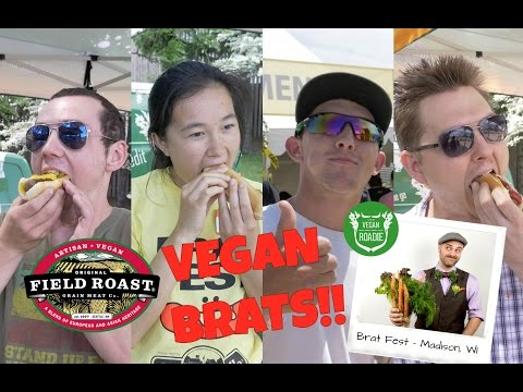 The Vegan Roadie - SPECIAL - Field Roast at The Wisconsin Brat Festival 2016!